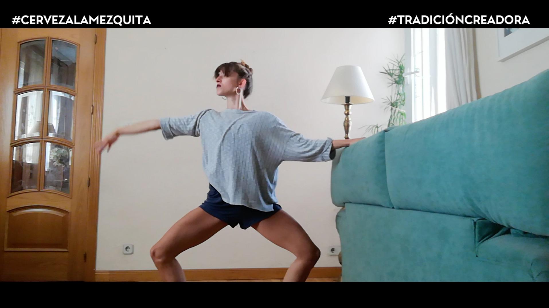 Teresa Borreguero Baena, bailarina